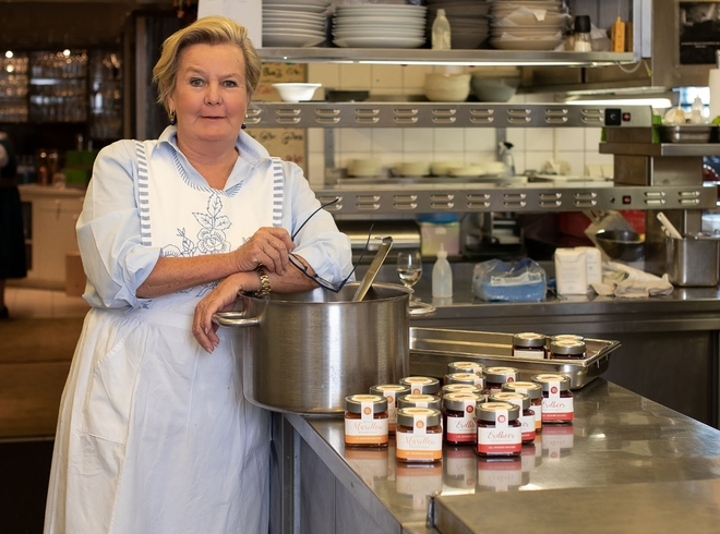 Lisl Wagner-Bacher als Pop-Up-Gastro